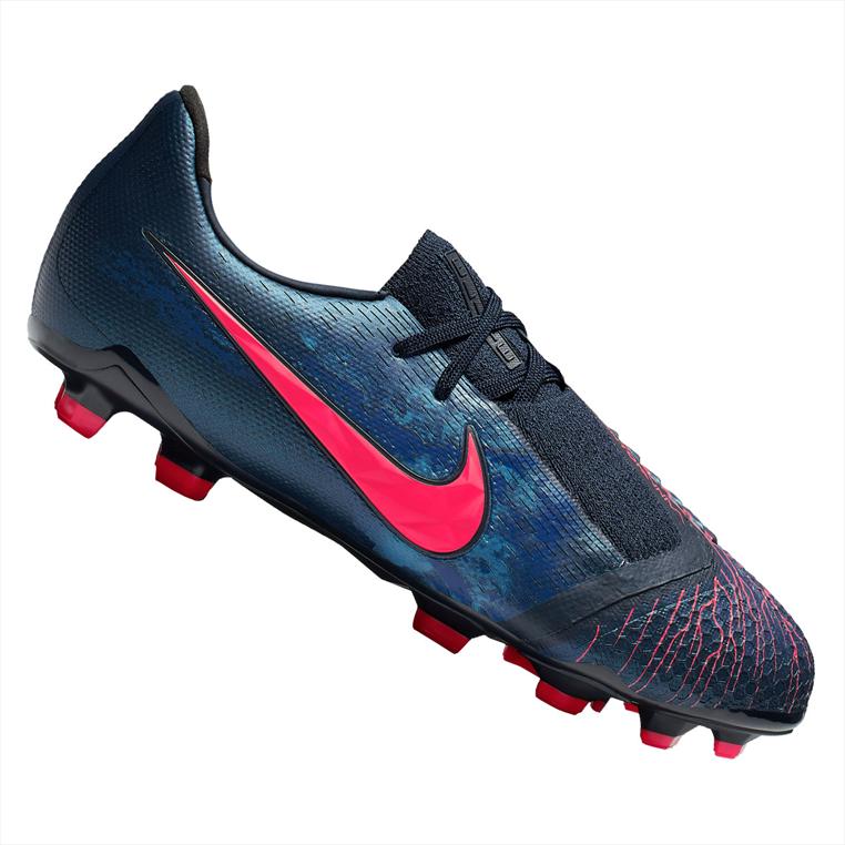 c2c3c4bef8a Nike kinderen voetbalschoenen Phantom Venom JR Elite FG donkerblauw/rood