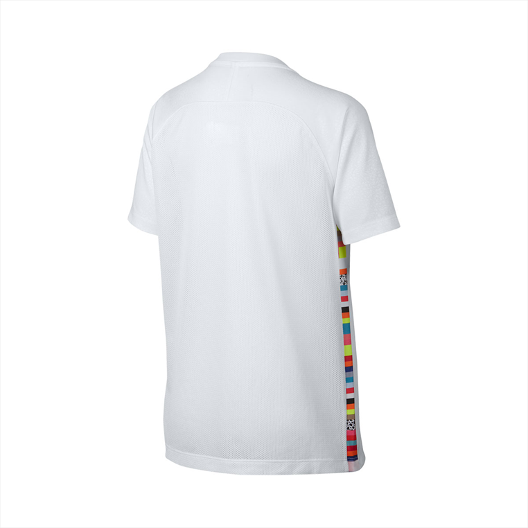 Nike kinderen trainingsshirt Mercurial CR7 wit/zwart