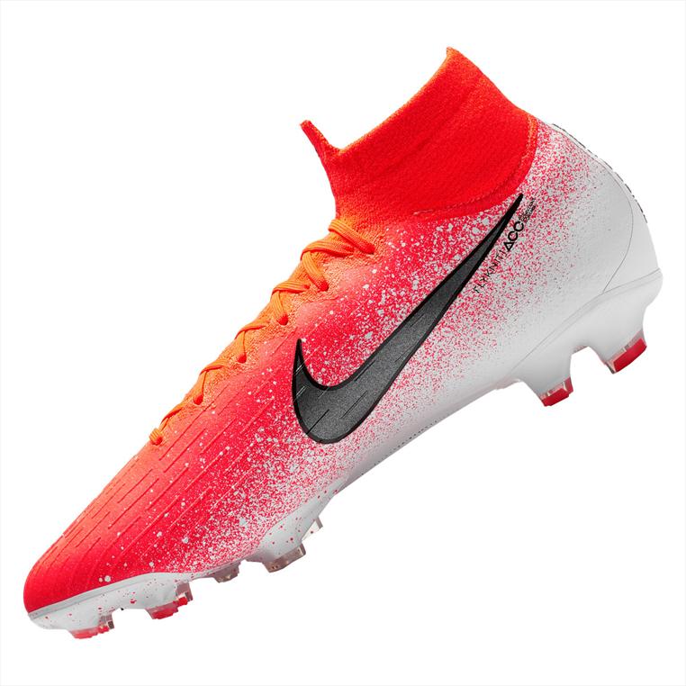Nike Fußballschuh Mercurial Superfly VI Elite FG orange/weiß