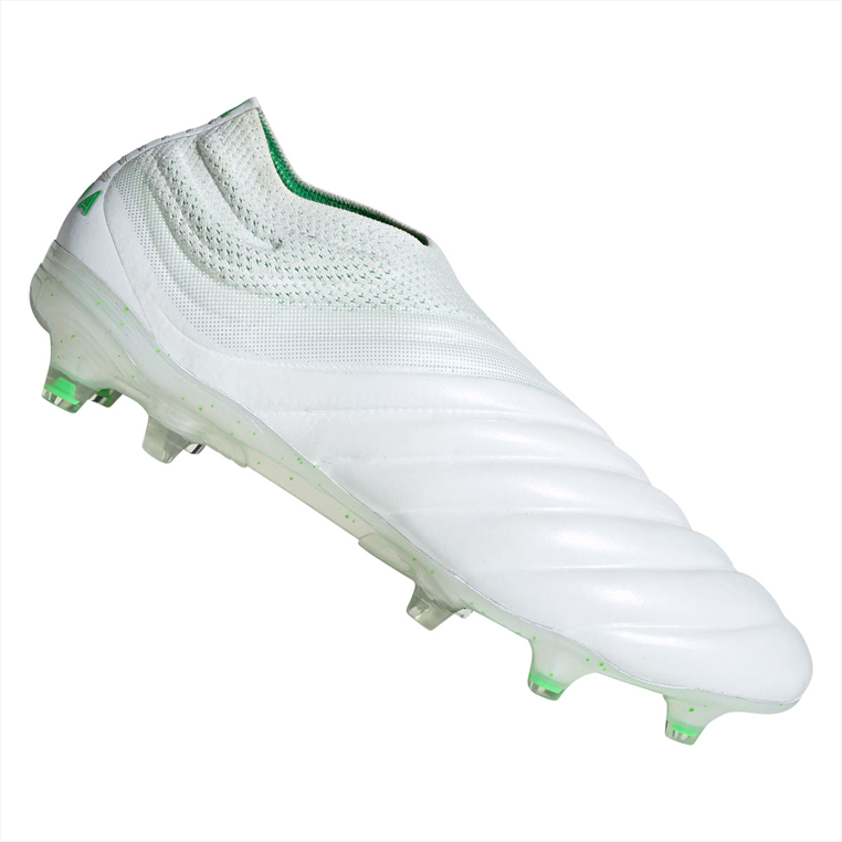 8a8f68afe98 Adidas voetbalschoenen Copa 19+ FG wit/groen fluo - Voetbal shop