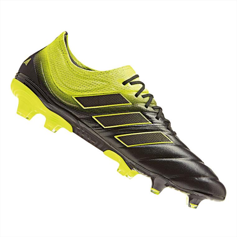 big discount new high quality san francisco adidas Fußballschuh Copa 19.1 FG schwarz/gelb fluo