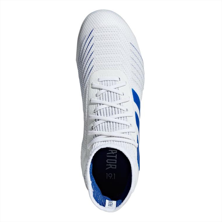 adidas Kinder Fußballschuh Predator 19.1 FG J weiß/blau