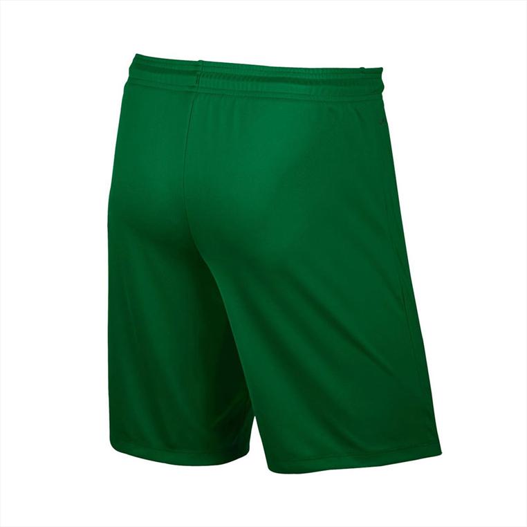 Nike Short Park II Knit ohne Innenslip grün/weiß