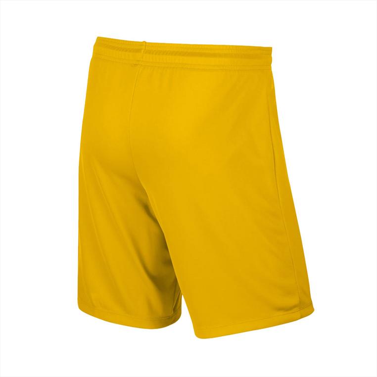 Nike Short Park II Knit ohne Innenslip gelb/schwarz