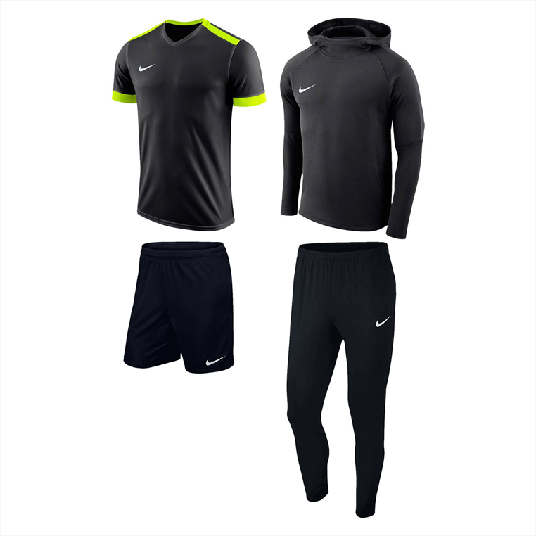 Nike Trainingsset Premium 4-teilig schwarz