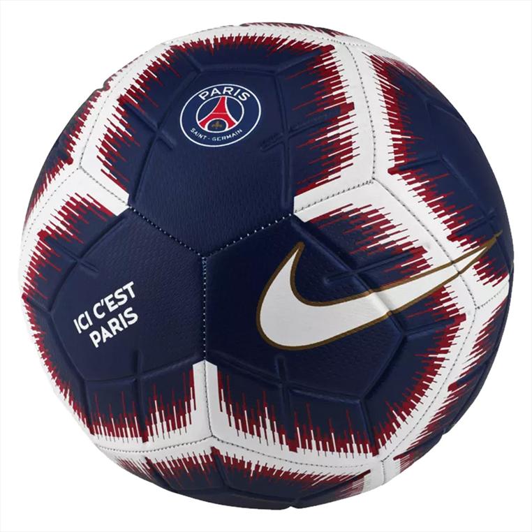 Nike Paris St. Germain Fußball Strike Größe 5 dunkelblau/weiß