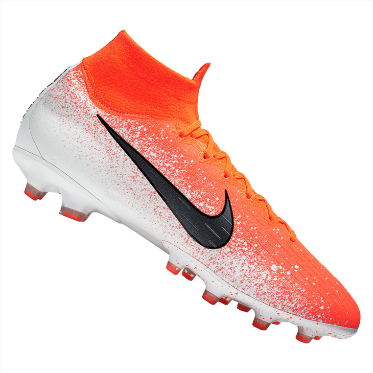 23d3ac8a6eb Nike mercurial superfly VI pro AG pro kunstgras voetbalschoenen oranje/wit
