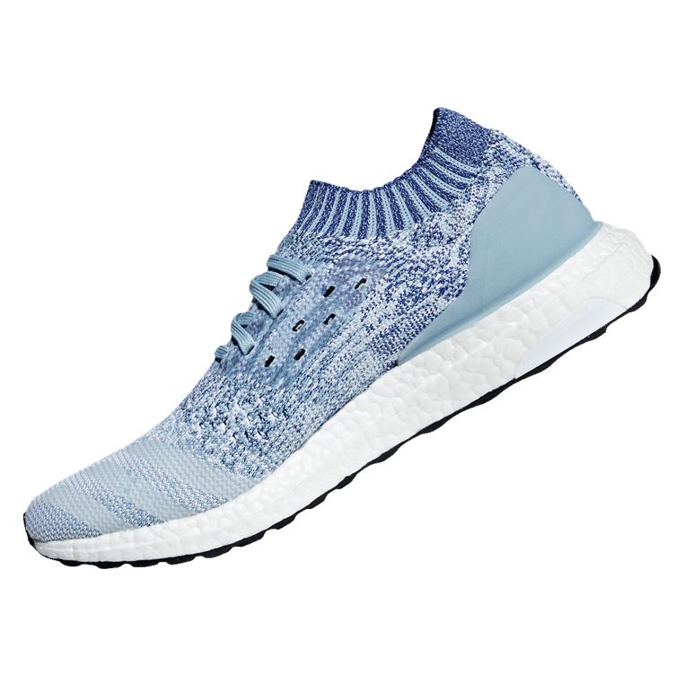 adidas Laufschuh Ultraboost Uncaged blaugrau/dunkelblau