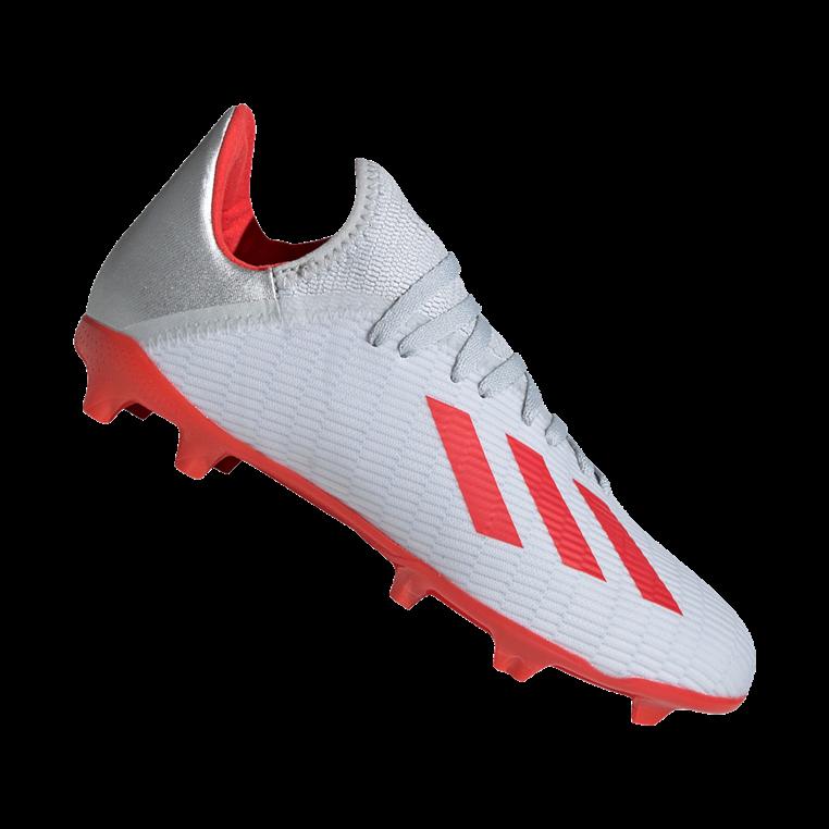 3639c4f17ea adidas kinderen voetbalschoenen X 19.3 FG J zilver/rood - Voetbal shop