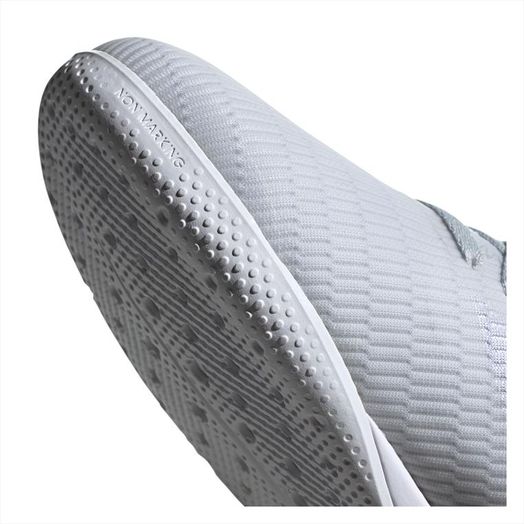 adidas Hallenschuh X 19.3 IN silber/rot