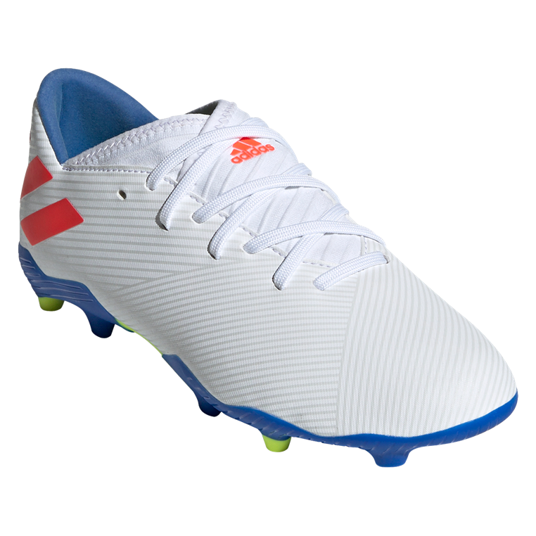 adidas Kinder Fußballschuh Nemeziz Messi 19.3 FG J weiß/rot