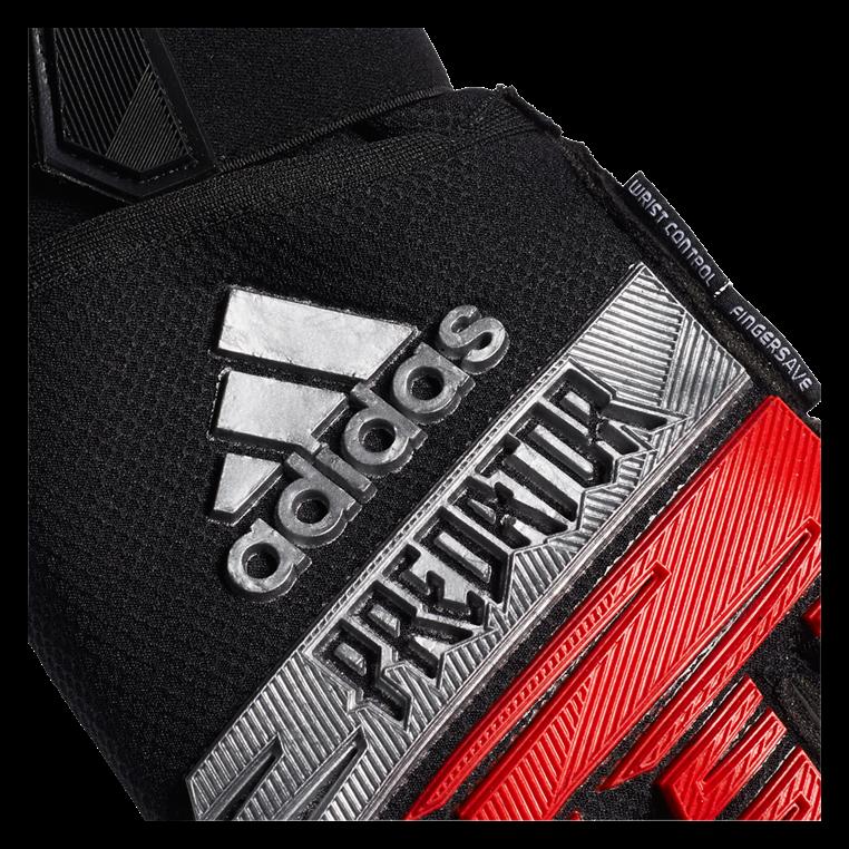 adidas Torwarthandschuhe Predator Ultimate schwarz/rot