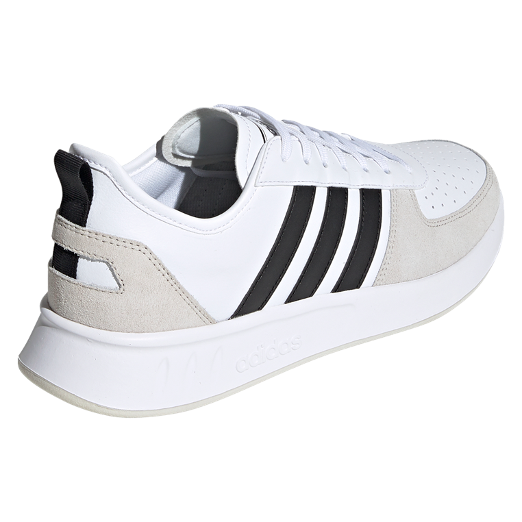 adidas Freizeitschuh Court 80s weiß/schwarz