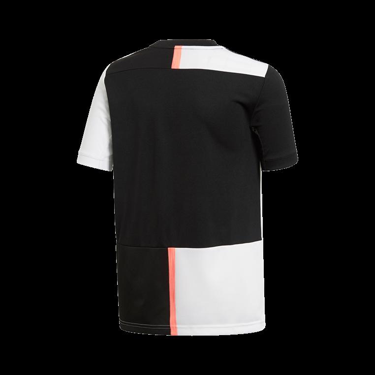 adidas Juventus Turin Kinder Heim Trikot 2019/20 schwarz/weiß