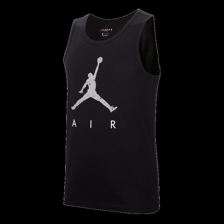 Nike Tank Top Sportswear Jordan Poolside schwarz/weiß