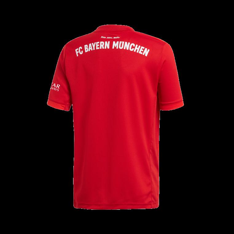 adidas FC Bayern München Kinder Heim Trikot 2019/20 rot/weiß