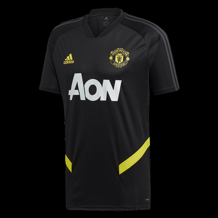 adidas Manchester United Trainingsshirt schwarz/gelb