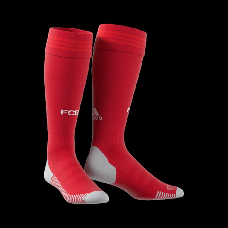 adidas FC Bayern München Kinder Heim Stutzen 2019/20 rot/weiß