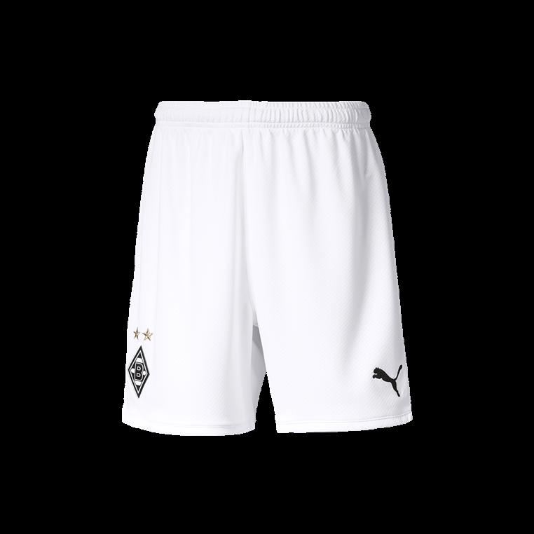 Puma Borussia Mönchengladbach Kinder Heim Short 2019/20 weiß/grün