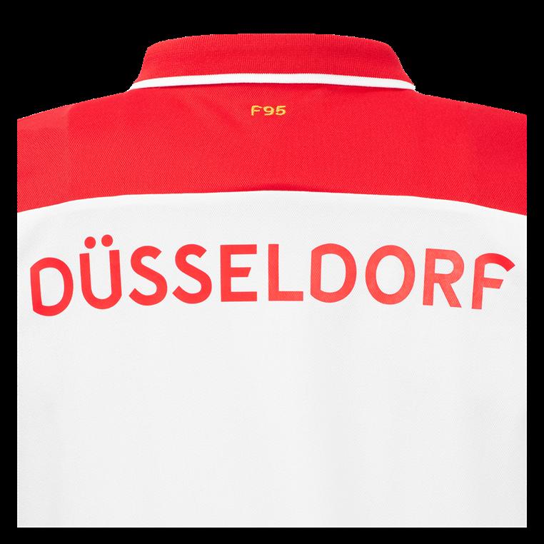 Uhlsport Fortuna Düsseldorf Kinder Heim Trikot 2019/20 weiß/rot