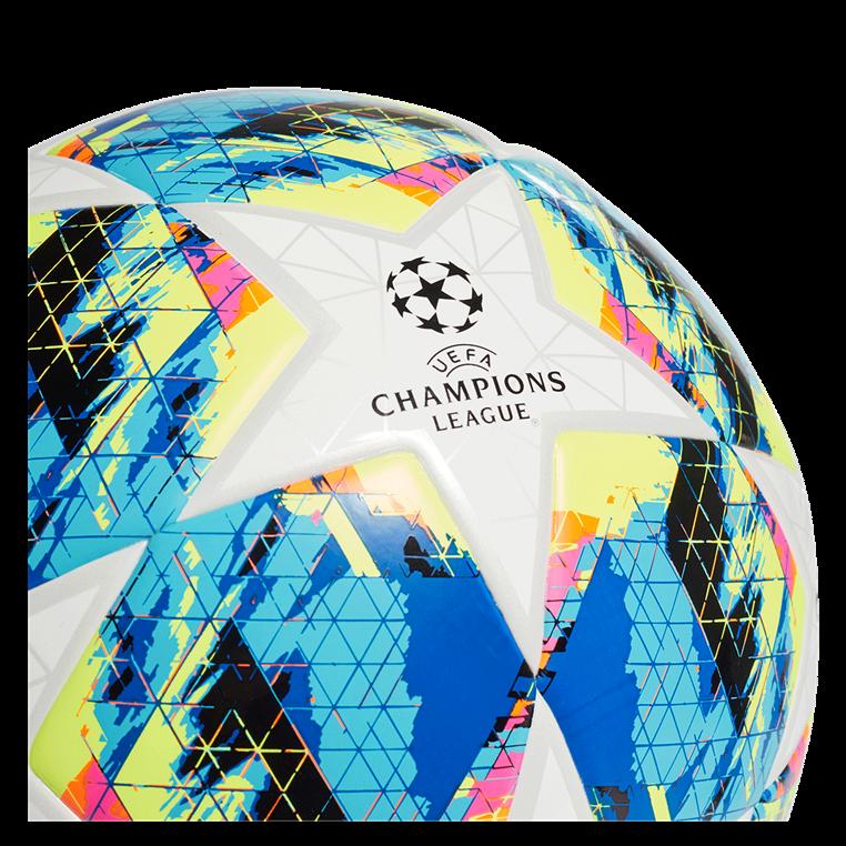 adidas Fußball Champions League Finale 2019 Top Training Junior 290G Größe 5 weiß/cyan