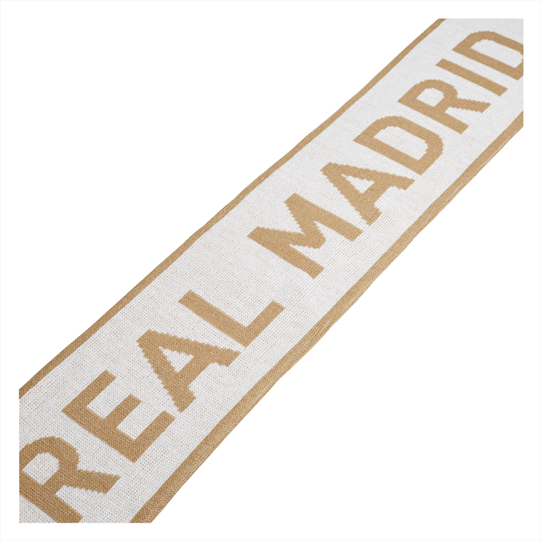 adidas Real Madrid Fanschal weiß/gold