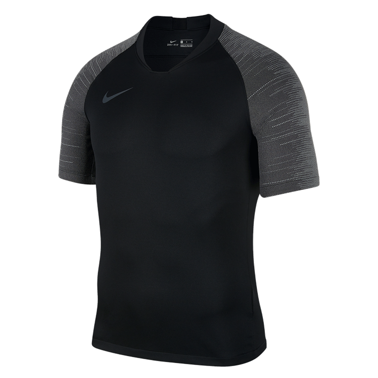 Nike Trainingsshirt Breathe Strike Top schwarz/grau