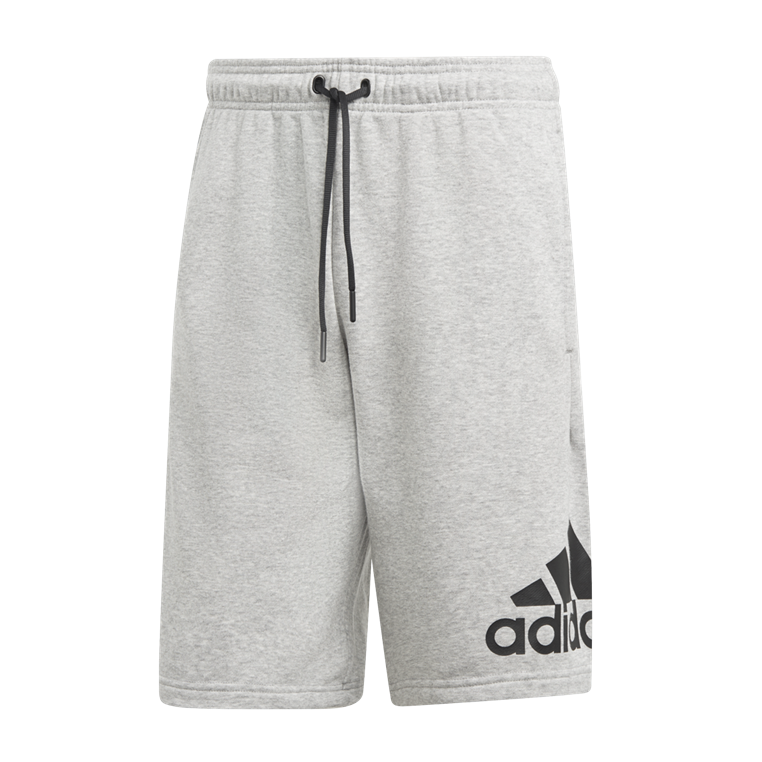 adidas Short Must Haves Badge of Sport French Terry grau/schwarz
