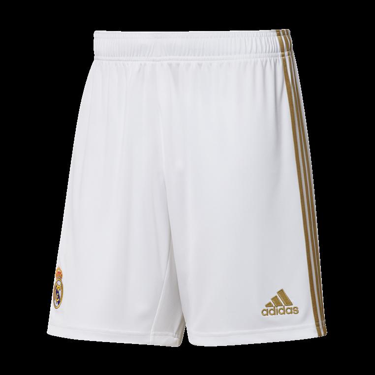 adidas Real Madrid Herren Heim Short 2019/20 weiß/gold