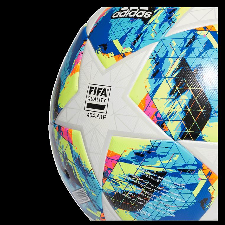adidas Fußball Champions League Finale 2019 Top Training Größe 4 weiß/cyan