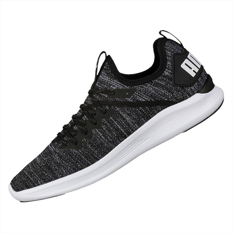 Puma Sneaker Ignite Flash evoKNIT schwarz/grau