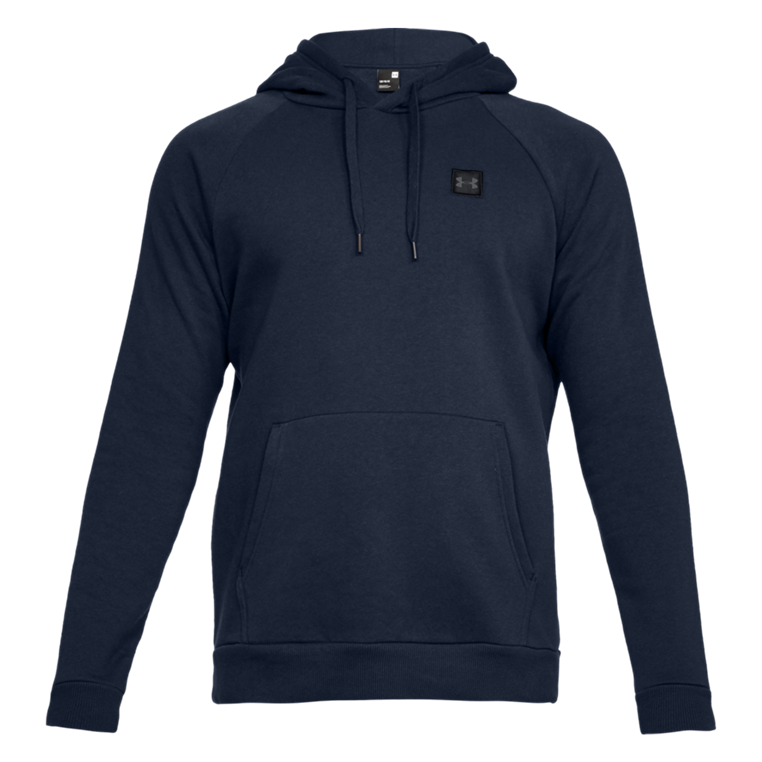 Under Armour Kapuzenpullover Rival Fleece Hoody dunkelblau/schwarz