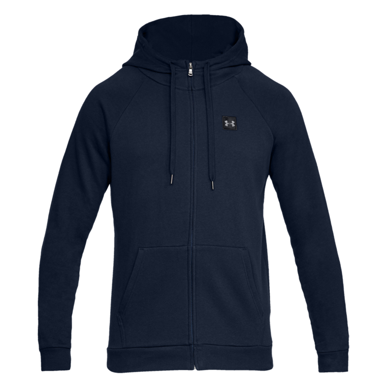 Under Armour Kapuzenjacke Rival Fleece Hoody dunkelblau/schwarz