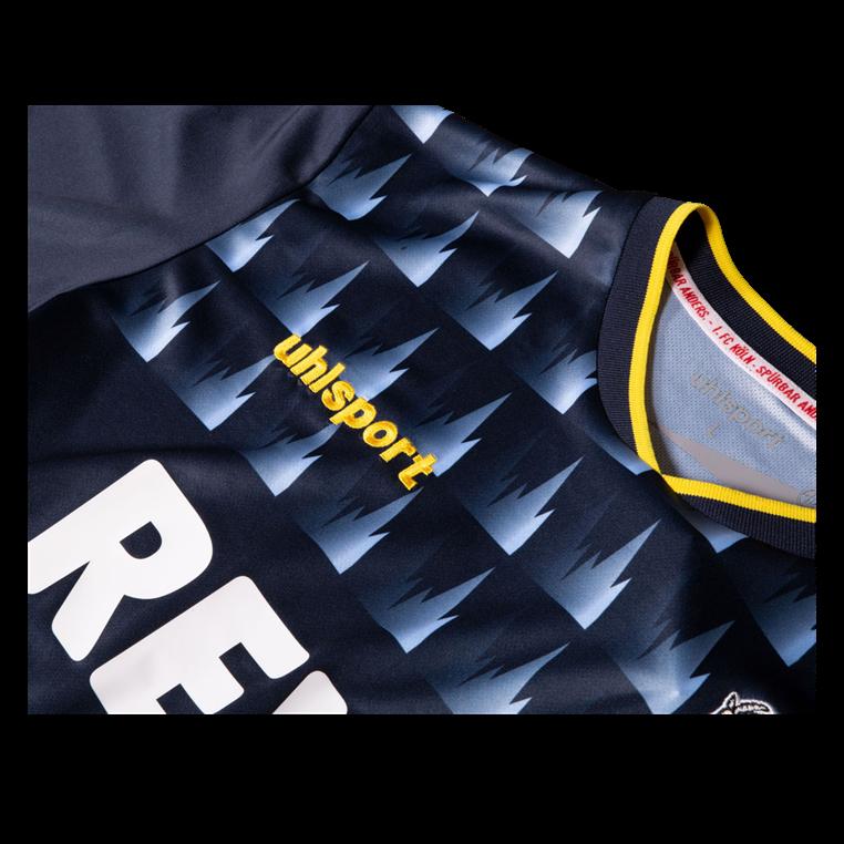 Uhlsport 1. FC Köln 3e shirt heren 2019/20 donkerblauw/lichtblauw