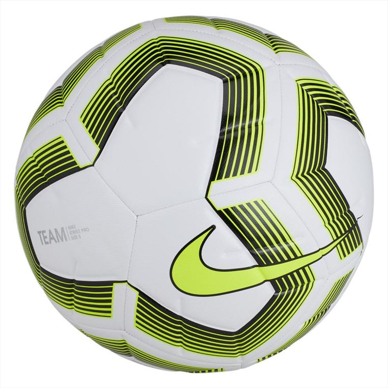Nike Fußball Strike Pro Team Größe 5 weiß/gelb fluo