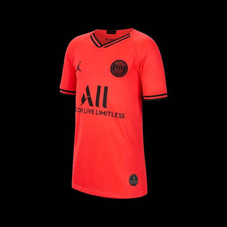 great fit f22be 57160 Nike Paris St. Germain Kinder Auswärts Trikot 2019/20 rot/schwarz