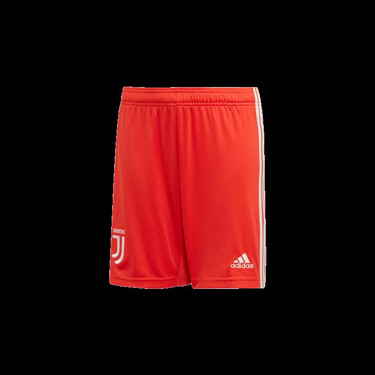 adidas Juventus Turin Kinder Auswärts Short 2019/20 rot/weiß