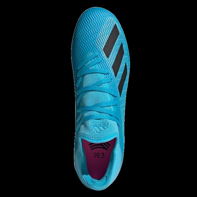 adidas Hallenschuh X 19.3 IN hellblau/schwarz