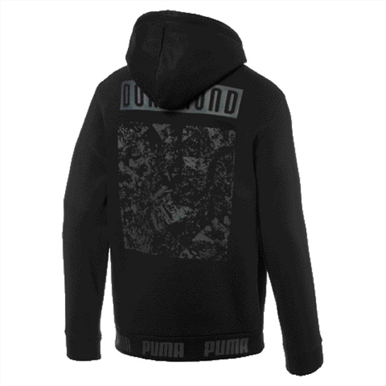 Puma BVB capuchontrui Ftbl Culture hoodie zwart/geel