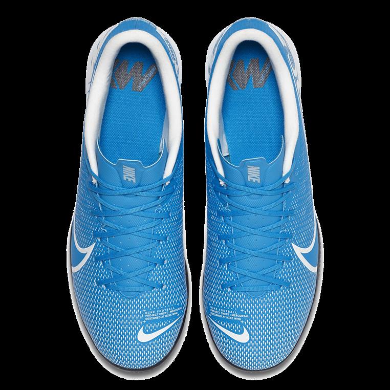 Nike Hallenschuh Mercurial Vapor XIII Academy IC hellblau/weiß