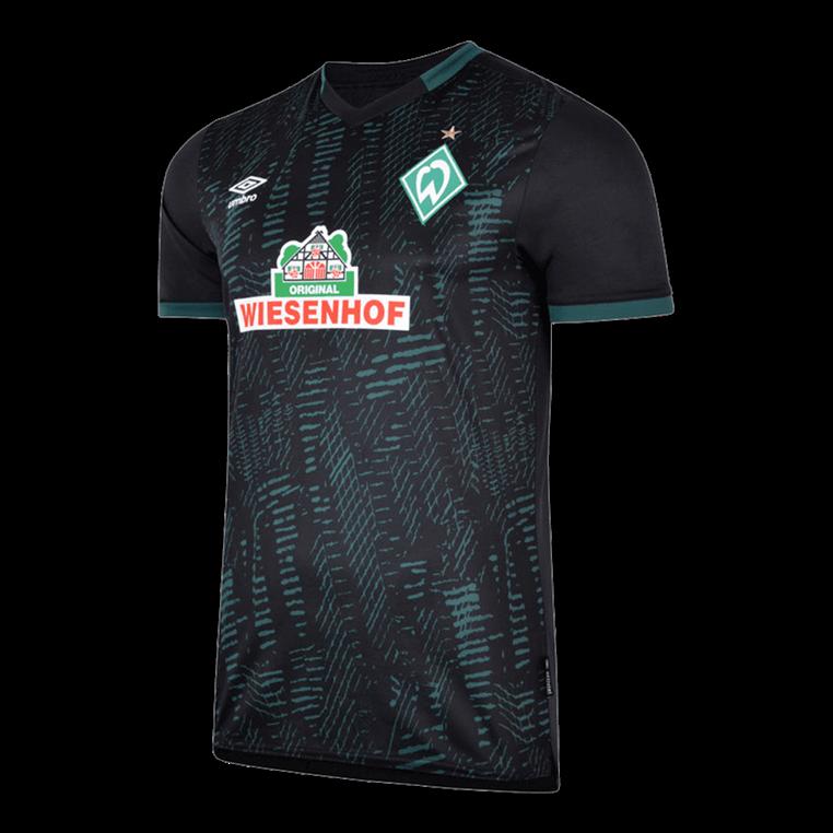 Umbro SV Werder Bremen Herren 3rd Trikot 2019/20 schwarz/hellgrün