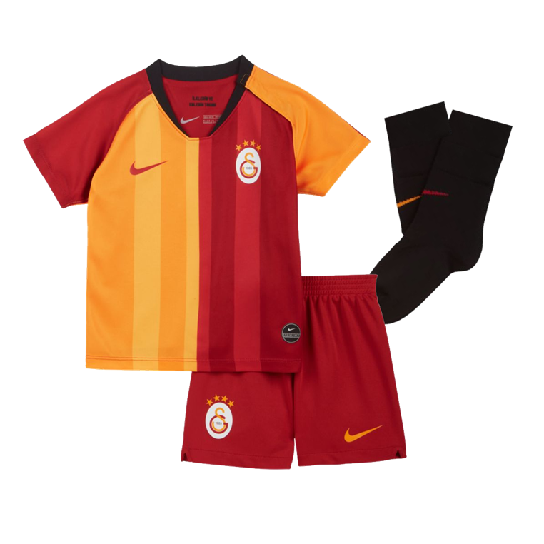 Nike Galatasaray Istanbul Kleinkinder Heim Kit 2019/20 rot/orange