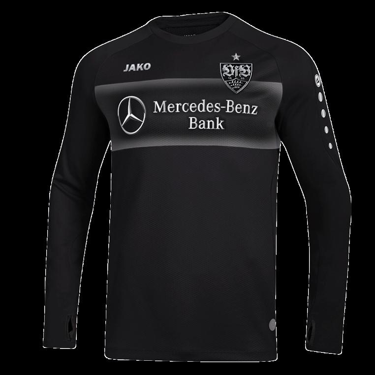 Jako VfB Stuttgart Trainingspullover Teamline Sweat schwarz/weiß