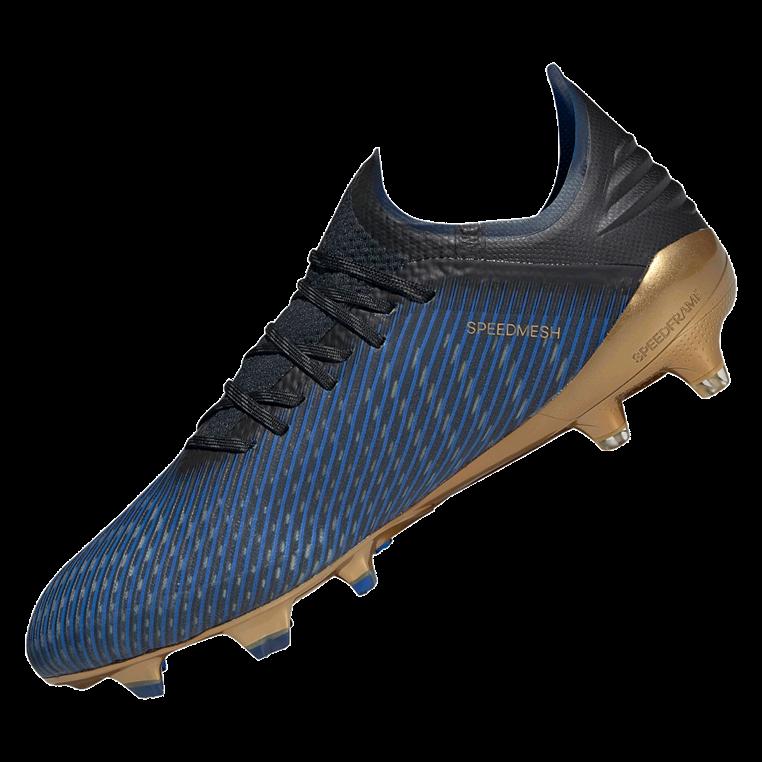 adidas Fußballschuh X 19.1 FG blau/gold