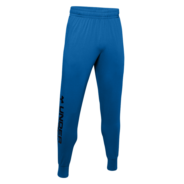 Under Armour Jogginghose Sportstyle Cotton Graphic Jogger blau/schwarz
