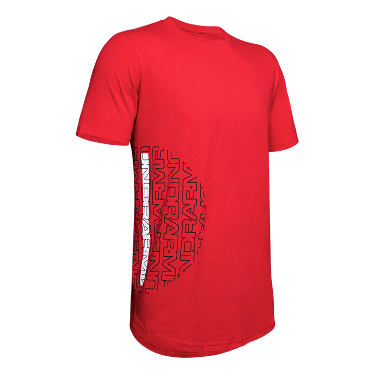 Under Armour Shirt Baseline Flip Side Tee rot/weiß