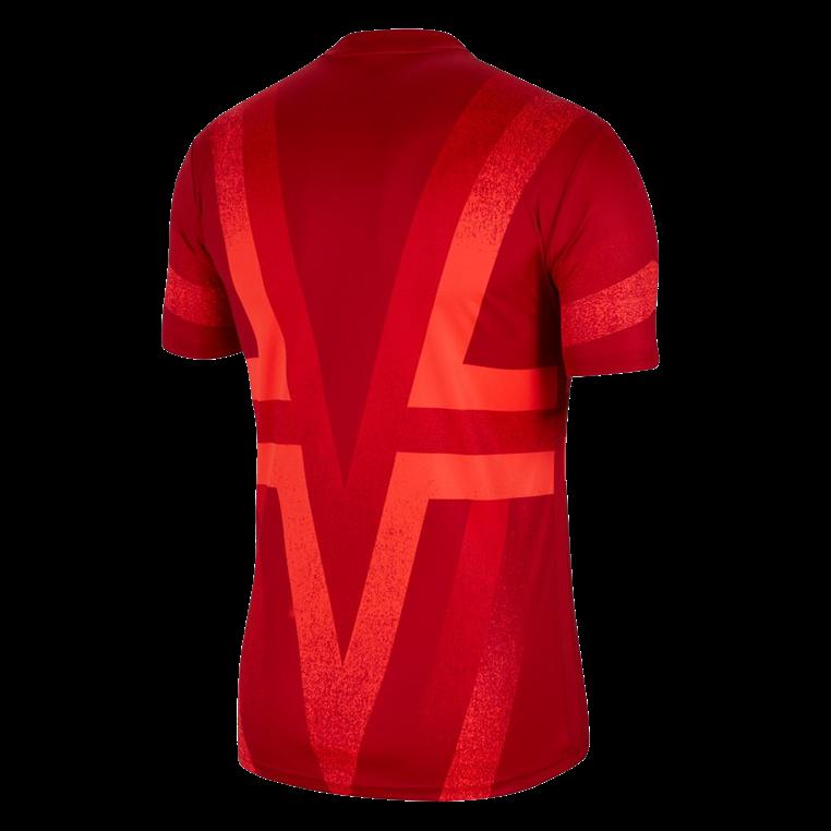 Nike Atlético Madrid Aufwärmtrikot PMV CL rot/hellrot