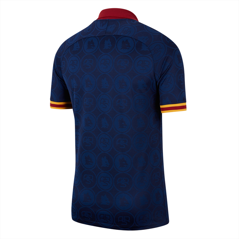 Nike AS Roma Herren Champions League Trikot 2019/20 blau/gold