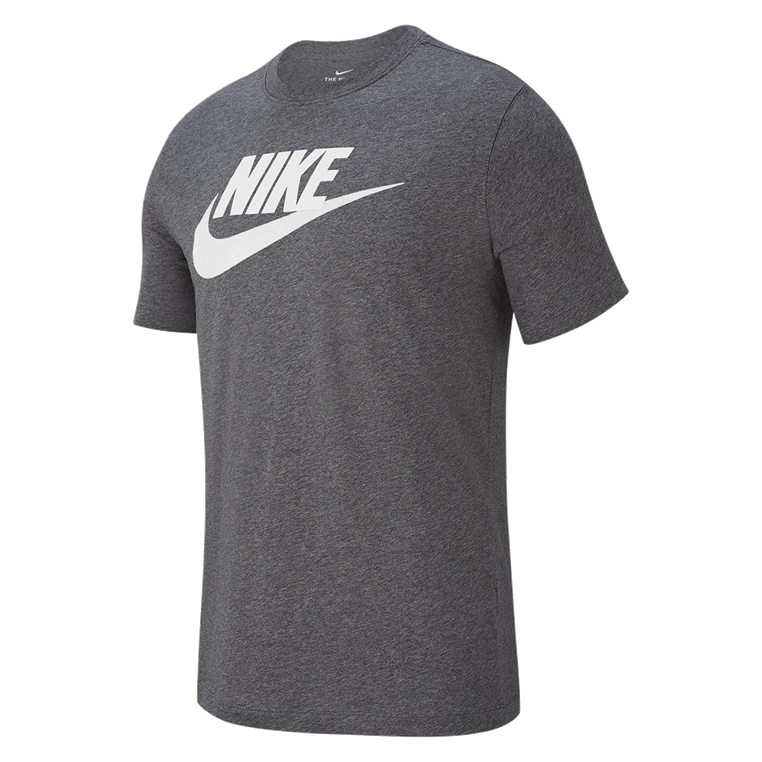 "Nike Shirt Sportswear ""Just do It"" Tee Icon Futura grau/weiß"