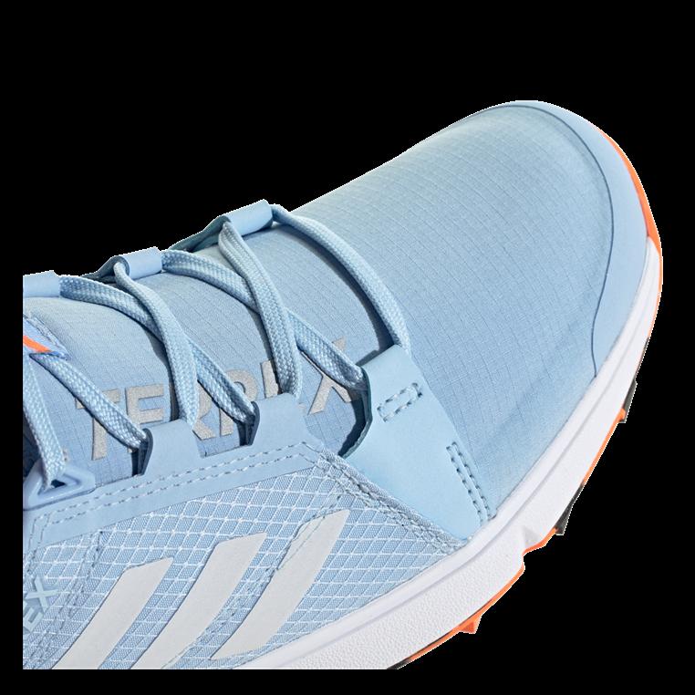 adidas Damen Schuh Terrex Agravic Speed GTX W hellblau/orange